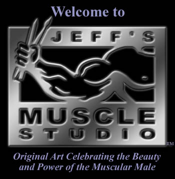 Jeff's Muscle Studio logo